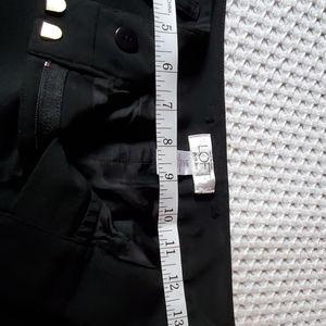 Loft petite black trousers